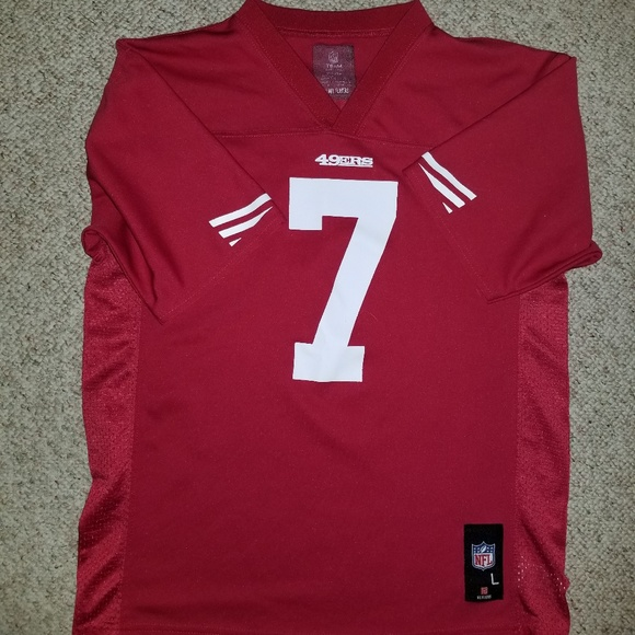 low priced beac7 c166f Colin Kaepernick 49ers Jersey Youth L
